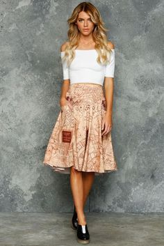 This is amazing! I want this, a skirt of the Marauders Map