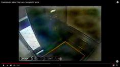 Elevator after Elisa's departure, the door closes,a blue energy field appears at the door ... Elisa Lam, Elevator, Creepy, Blue