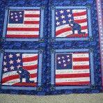 Soldier's Prayer Cotton Fabric