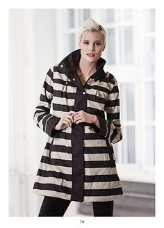 Stylish raincoat, KRISS Sweden Stylish Raincoats, Sweden, Spring, Sweaters, Jackets, Fashion, Down Jackets, Moda, Fashion Styles