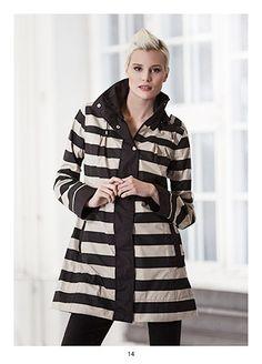 Stylish raincoat, KRISS Sweden