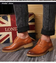 70de5679c4a Aliexpress.com   Buy New Fashion Men Oxfords Cow Split Bullock Style Dress  Shoes