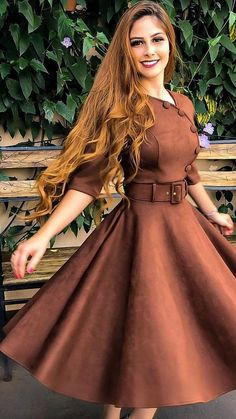 Spread the love Lovely Fall Dresses from 20 of the Cute Fall Dresses collection is the most trending fashion outfit this season. This Fall Dresses look related Modest Dresses, Fall Dresses, Elegant Dresses, Pretty Dresses, Beautiful Dresses, Casual Dresses, Formal Dresses, Wedding Dresses, Modest Fashion