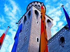 Neuschwanstein Flags - Jon Lander ©2016 - Bavaria, Germany