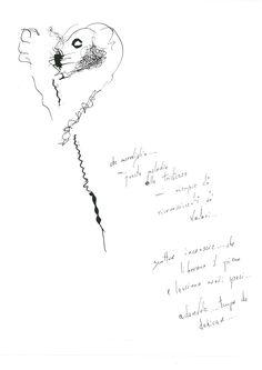 DARTGR0715046 #Heart #Black #love #Minimal #DanielaDallavalle #Grafismi #loveistheanswer #ink #sketches #art #writing #phrase #sentences #philosophy