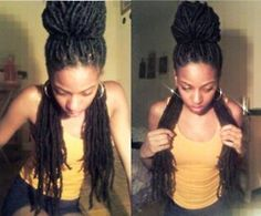 her locs are so serious