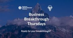 We were honored and excited to chat with David Fionda from Business Breakthrough Network on the Business Breakthrough Thursdays podcast. We talked about how entrepreneurial CEOs and technical founders can quickly scale their #marketing through an innovative, agile-inspired #MarketingPlan approach. Check it out.