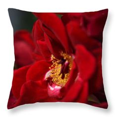 """These throw pillows are made from 100% cotton fabric and add a stylish statement to any room. Pillows are available in sizes from 14"""" x 14"""" up to 26"""" x 26"""". Each pillow is printed on both sides (same image) and includes a concealed zipper and removable insert (if selected) for easy cleaning. Fulfillment by Fine Art America. All Images Copyright 2014-2015 Rowena Throckmorton. All Rights Reserved."""