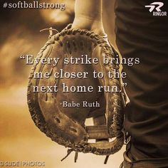 Ringor Softball Quotes Gallery – Sport is lifre Softball Room, Softball Memes, Softball Players, Girls Softball, Fastpitch Softball, Softball Stuff, Baseball Mom Quotes, Softball Sayings, Baseball Stuff