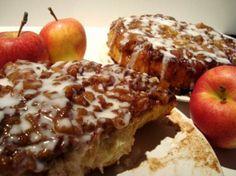 apple caramel sticky buns