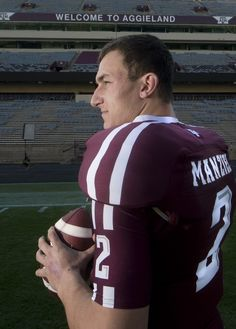 Everyone wants to talk to Johnny Football, by Robert Cessna. Greg's former boss!