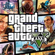 Portada Oficial de GTA V   Videojuegos   Silvia Galiana Xbox 360, Playstation, Grand Theft Auto 1, Grand Theft Auto Series, Big Chief Street Outlaws, Gta 5 Pc Game, Gta City, Gta 5 Mobile, San Andreas Gta