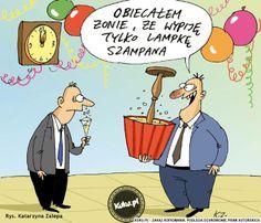 A obietnic powinno się dotrzymywać :) Komiks sylwestrowy z http://kuku.pl