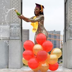 Pictures of Amazing Black Girls Graduating. Add Your Own Graduation Picture! Graduating Wearing Graduation Stoles Kente Stoles etc. Pictures of Amazing Black Girls Graduating. Add Your Graduation Images, College Graduation Pictures, Graduation Picture Poses, Graduation Photoshoot, Grad Pics, Graduation Ideas, Grad Pictures, Graduation 2015, Graduation Balloons
