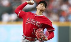 Shohei Ohtani throws fastest pitch by MLB starter this season - April Angels pitcher Shohei Ohtani can really rake, but he can also throw gas, too, which is what makes him such a sensational, once-in-a-generation type of player. Nippon Professional Baseball, April 24, Pitch, Mlb, Angels, Seasons, Type, Mens Tops