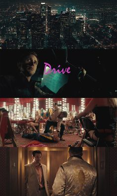 Drive, 2011 (dir. Nicolas Winding Refn) By 80s-touch