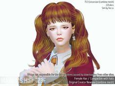 Mayims: May_TS4_Hair123F