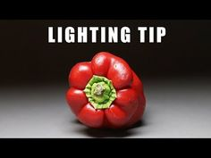 """You can learn a lot about portrait lighting by doing """"veggie portraits"""" using a one-light setup. I'm going to demonstrate how to use constant light sources t. Ipad Photo, Portrait Lighting, One Light, Stuffed Peppers, Vegetables, Fruit, Food, Stuffed Pepper, Essen"""