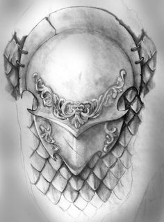 shoulder armor tattoo | Shoulder Armor by ~artfullycreative on deviantART