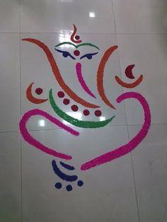 latest Simple Rangoli Designs Images Photos for Diwali 2018 ~ Happy Diwali Images Wishes 2018 Simple Rangoli Designs Images, Rangoli Designs Flower, Rangoli Border Designs, Colorful Rangoli Designs, Rangoli Designs Diwali, Diwali Rangoli, Flower Rangoli, Beautiful Rangoli Designs, Easy Rangoli
