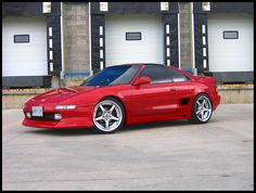 1992 Toyota MR2. Clear corners and GRacer looking kit.