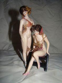 German Galluba Hoffman Double Bathing Beauty Dolls | eBay