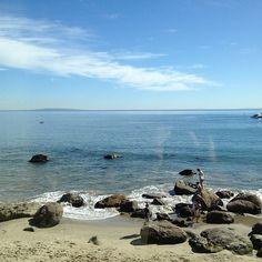 Sunday Brunch at the Carbon Beach Club... #nofilter #brunch #malibu #beach #ocean