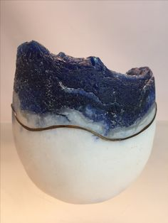 "Pate de verre ""Winter Morning "" by LouBee Ferguson"