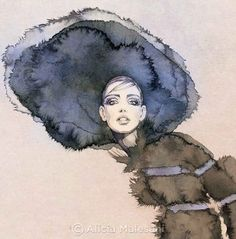 Alicia Malesani Fashion Illustrations