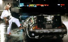 Image result for back to the future delorean