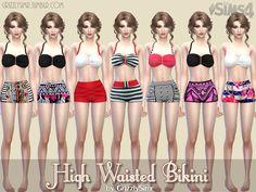 GrizzlySimr's High Waisted Bikini