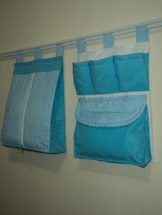 Porta Fraldas, Porta Treco, Organizador Em Tecido Pra Bebê