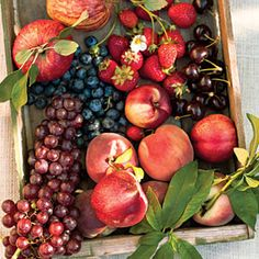 The best fruits to plant in cold weather? Yep, peaches, grapes, berries, and more.