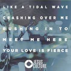 "Check out the new performance video of Jesus Culture Performing  ""Fierce"" (Featuring Chris Quilala). https://www.youtube.com/watch?v=B427nHGszL0"