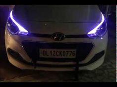 Hyundai Elite i20 Projectors & Eagle Eyes & DRL
