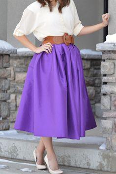 Love this plum fashion