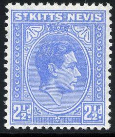 KG VI: St. Kitts Nevis 1938