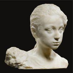 http://www.liveinternet.ru/community/1726655/post293557088/ Marble bust of a girl (1895)