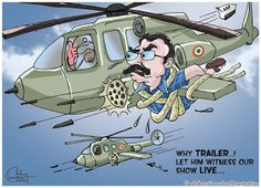 Justoon: Live evidence of the surgical strikes...