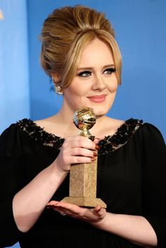 Adele in Van Cleef & Arpel earrings