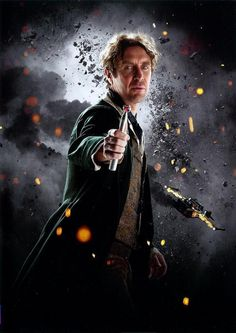 8th Doctor Paul McGann. Is it weird I think he's kinda hot?