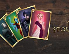 "Check out new work on my @Behance portfolio: ""The Storyteller - CARD GAME"" http://be.net/gallery/58654877/The-Storyteller-CARD-GAME"