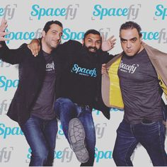 The Founders of Spacefy, @jsiwady Al and Moya.