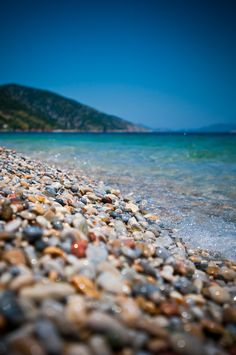 The beach. Alonissos, Greece