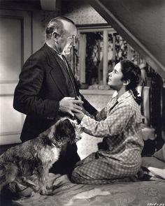 Donald Crisp and Elizabeth Taylor in National Velvet (1944)