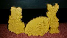 Vintage Disney Wilton 1994 Winnie the Pooh, Eeyore & Piglet Cookie Cutters