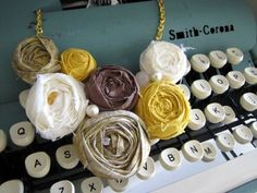 rosette necklace made by @Brittany Davis {love stitched}