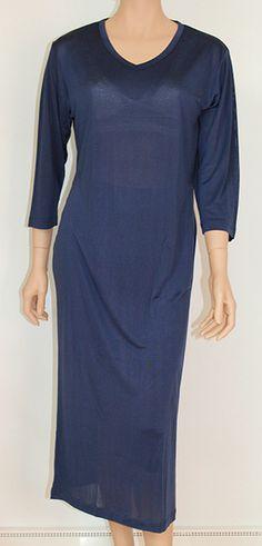 Silke jersey natkjole, utrolig behagelig og blød natkjole som vil blive din yndlings natkjole.