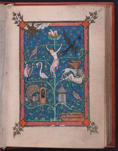 Rothschild Canticles -   Beinecke MS 404 - 5r - xiv ième