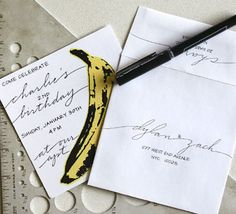 Anne Robin Calligraphy | Online Party Planning Guide
